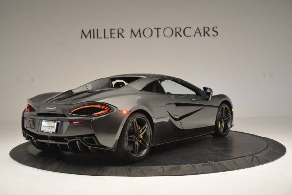 Used 2019 McLaren 570S Spider Convertible for sale Sold at Maserati of Greenwich in Greenwich CT 06830 19