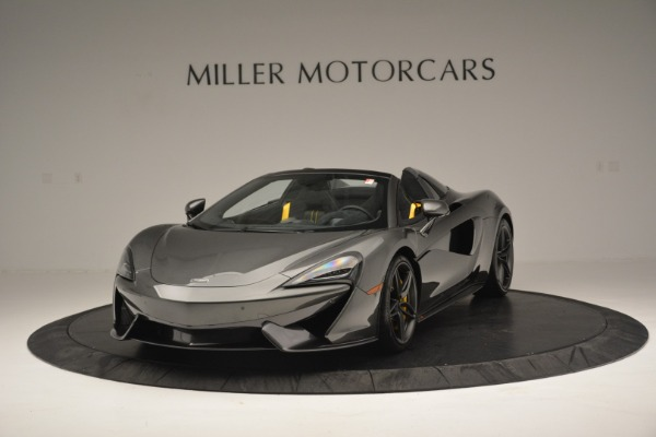Used 2019 McLaren 570S Spider Convertible for sale Sold at Maserati of Greenwich in Greenwich CT 06830 2