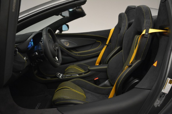 Used 2019 McLaren 570S Spider Convertible for sale Sold at Maserati of Greenwich in Greenwich CT 06830 24