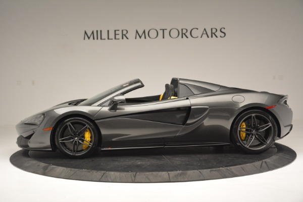Used 2019 McLaren 570S Spider Convertible for sale Sold at Maserati of Greenwich in Greenwich CT 06830 3