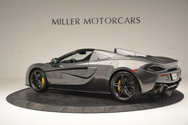 Used 2019 McLaren 570S Spider Convertible for sale Sold at Maserati of Greenwich in Greenwich CT 06830 4