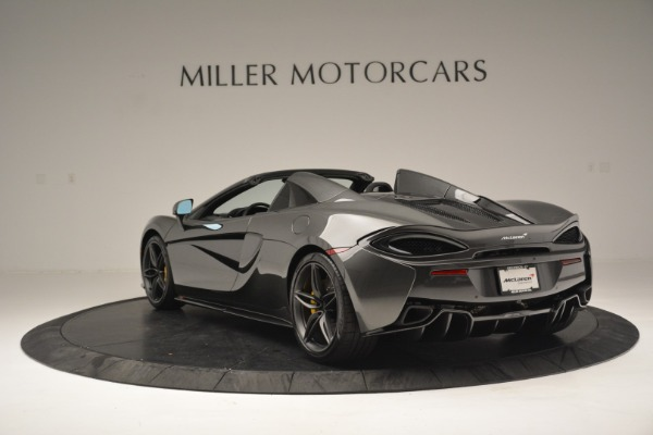 Used 2019 McLaren 570S Spider Convertible for sale Sold at Maserati of Greenwich in Greenwich CT 06830 5