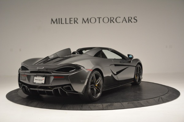 Used 2019 McLaren 570S Spider Convertible for sale Sold at Maserati of Greenwich in Greenwich CT 06830 7