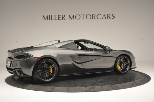 Used 2019 McLaren 570S Spider Convertible for sale Sold at Maserati of Greenwich in Greenwich CT 06830 8
