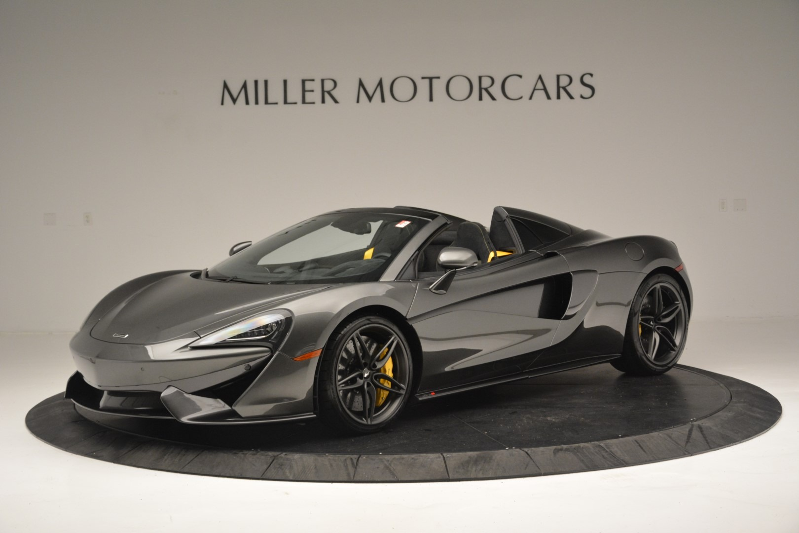 Used 2019 McLaren 570S Spider Convertible for sale Sold at Maserati of Greenwich in Greenwich CT 06830 1