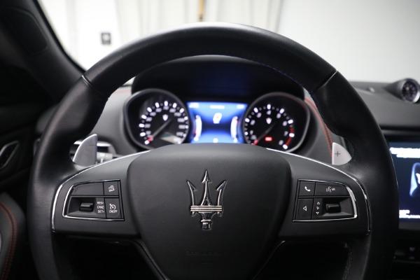 New 2019 Maserati Levante Q4 GranLusso for sale $86,940 at Maserati of Greenwich in Greenwich CT 06830 19
