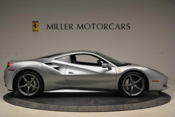 Used 2018 Ferrari 488 GTB for sale Sold at Maserati of Greenwich in Greenwich CT 06830 9