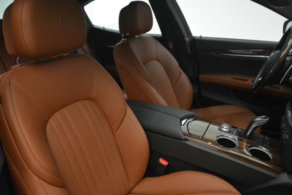 New 2019 Maserati Ghibli S Q4 GranLusso for sale Sold at Maserati of Greenwich in Greenwich CT 06830 22