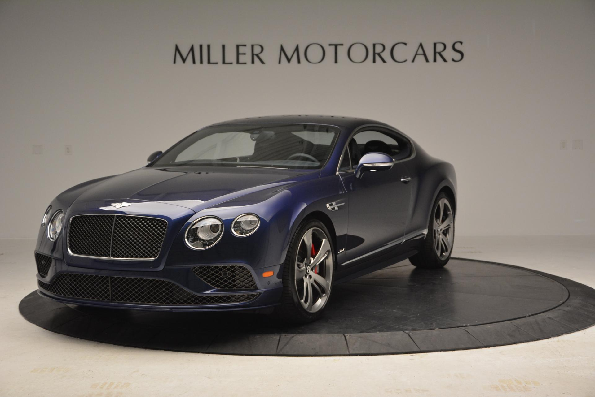 Used 2016 Bentley Continental GT Speed GT Speed for sale Sold at Maserati of Greenwich in Greenwich CT 06830 1