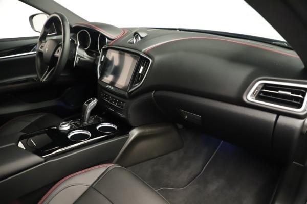 Used 2019 Maserati Ghibli S Q4 GranSport for sale $64,900 at Maserati of Greenwich in Greenwich CT 06830 22