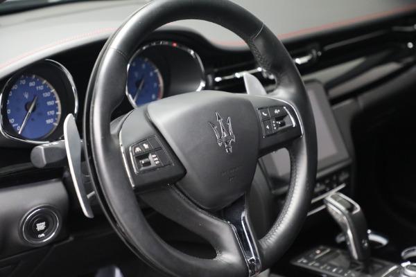 Used 2019 Maserati Quattroporte S Q4 GranLusso for sale $69,900 at Maserati of Greenwich in Greenwich CT 06830 17