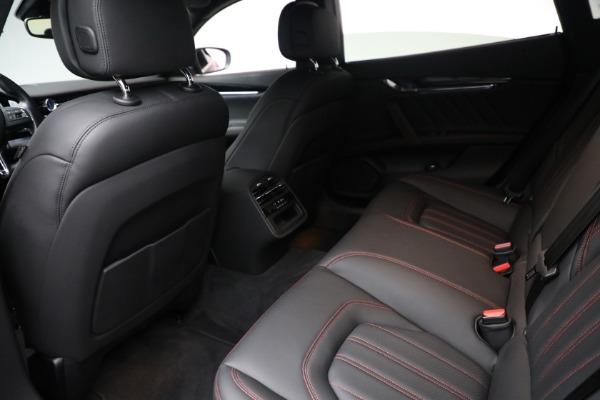 Used 2019 Maserati Quattroporte S Q4 GranLusso for sale $69,900 at Maserati of Greenwich in Greenwich CT 06830 22