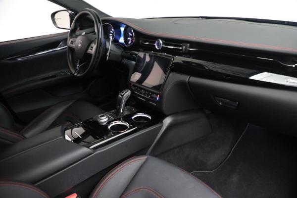 Used 2019 Maserati Quattroporte S Q4 GranLusso for sale $69,900 at Maserati of Greenwich in Greenwich CT 06830 26