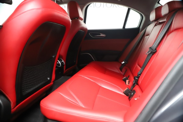 New 2019 Alfa Romeo Giulia Q4 for sale Sold at Maserati of Greenwich in Greenwich CT 06830 18