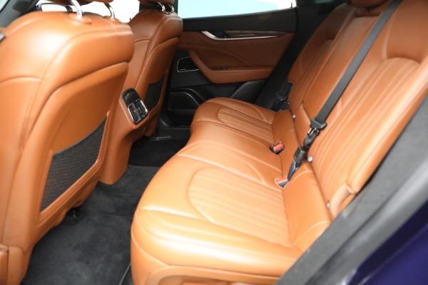 New 2019 Maserati Levante Q4 GranLusso for sale Sold at Maserati of Greenwich in Greenwich CT 06830 19