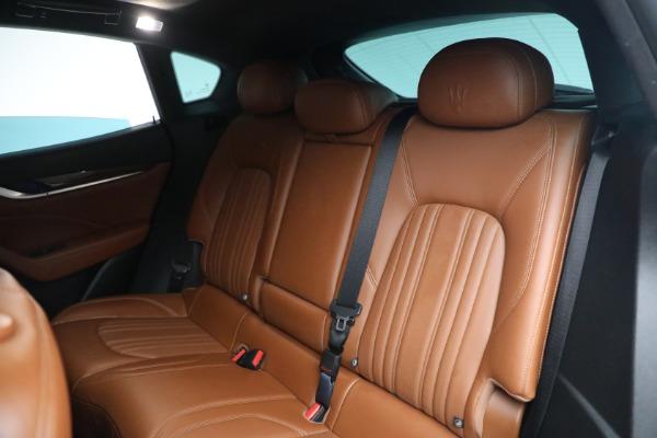 New 2019 Maserati Levante Q4 GranLusso for sale Sold at Maserati of Greenwich in Greenwich CT 06830 20