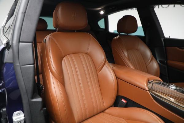New 2019 Maserati Levante Q4 GranLusso for sale Sold at Maserati of Greenwich in Greenwich CT 06830 21