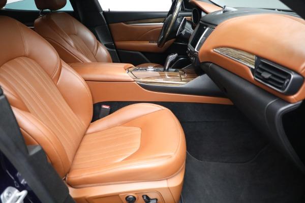 New 2019 Maserati Levante Q4 GranLusso for sale Sold at Maserati of Greenwich in Greenwich CT 06830 22
