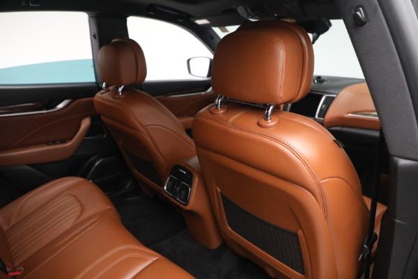 New 2019 Maserati Levante Q4 GranLusso for sale Sold at Maserati of Greenwich in Greenwich CT 06830 24