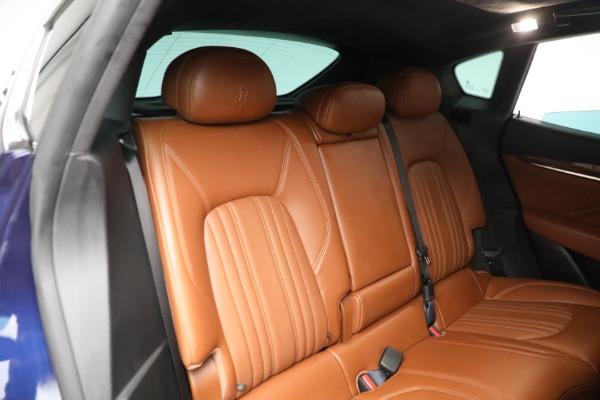 New 2019 Maserati Levante Q4 GranLusso for sale Sold at Maserati of Greenwich in Greenwich CT 06830 25