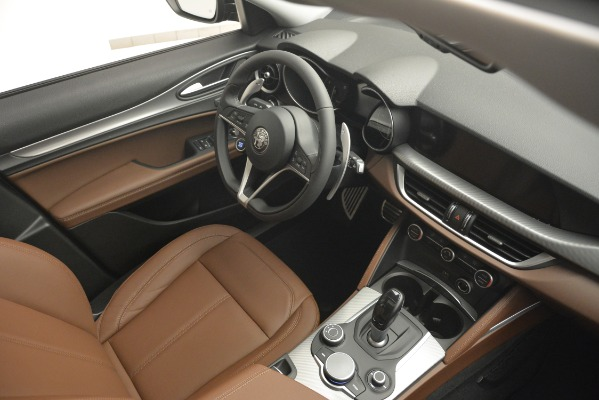 New 2019 Alfa Romeo Stelvio Sport Q4 for sale Sold at Maserati of Greenwich in Greenwich CT 06830 15