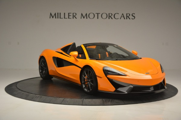 Used 2019 McLaren 570S SPIDER Convertible for sale $240,720 at Maserati of Greenwich in Greenwich CT 06830 11