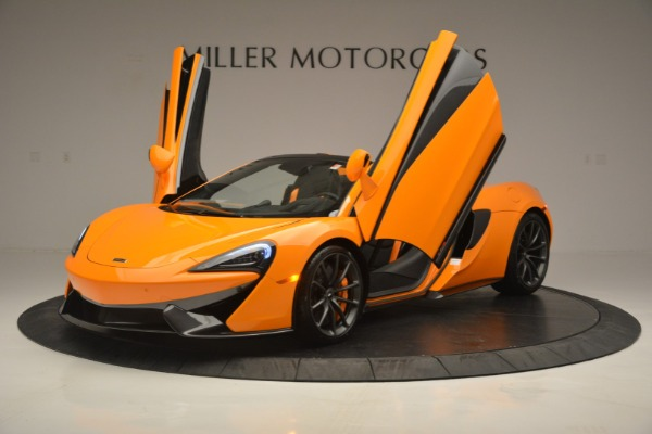 Used 2019 McLaren 570S SPIDER Convertible for sale $240,720 at Maserati of Greenwich in Greenwich CT 06830 14