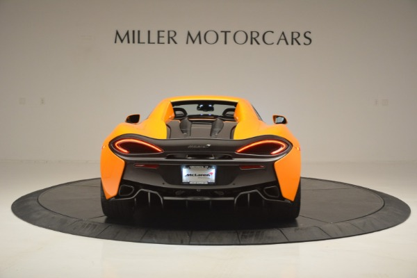 Used 2019 McLaren 570S SPIDER Convertible for sale $240,720 at Maserati of Greenwich in Greenwich CT 06830 18