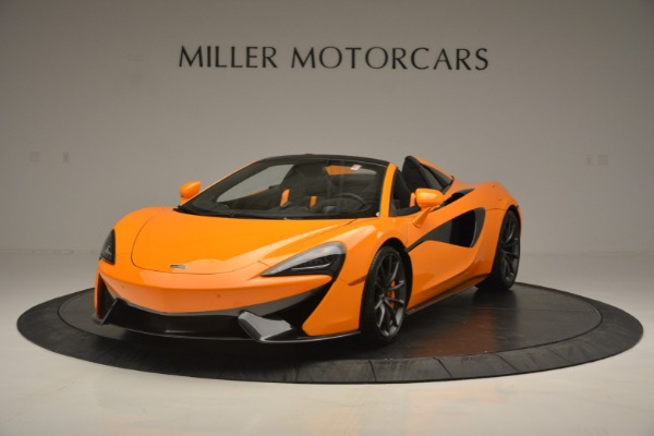 Used 2019 McLaren 570S SPIDER Convertible for sale $240,720 at Maserati of Greenwich in Greenwich CT 06830 2