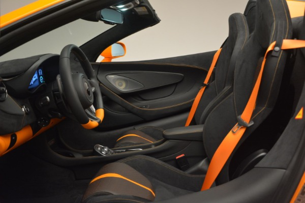 Used 2019 McLaren 570S Spider for sale $186,900 at Maserati of Greenwich in Greenwich CT 06830 24