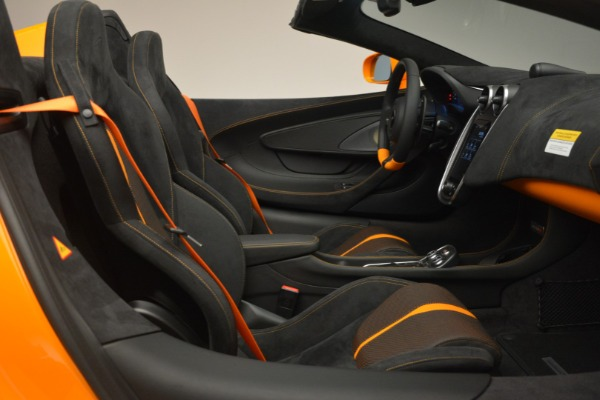 Used 2019 McLaren 570S Spider for sale $186,900 at Maserati of Greenwich in Greenwich CT 06830 27