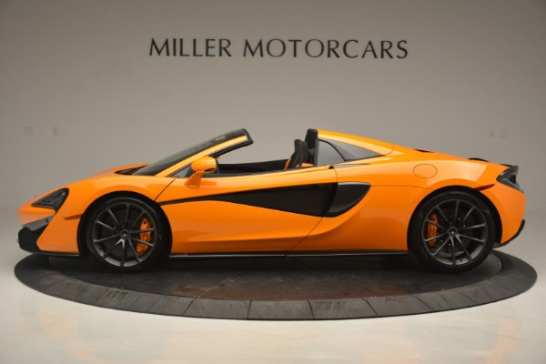 Used 2019 McLaren 570S SPIDER Convertible for sale $240,720 at Maserati of Greenwich in Greenwich CT 06830 3