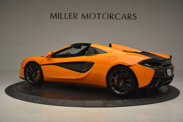 Used 2019 McLaren 570S SPIDER Convertible for sale $240,720 at Maserati of Greenwich in Greenwich CT 06830 4