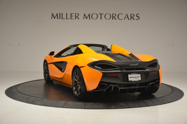 Used 2019 McLaren 570S SPIDER Convertible for sale $240,720 at Maserati of Greenwich in Greenwich CT 06830 5