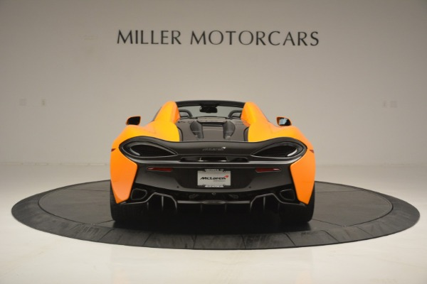 Used 2019 McLaren 570S SPIDER Convertible for sale $240,720 at Maserati of Greenwich in Greenwich CT 06830 6