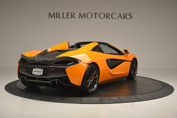 Used 2019 McLaren 570S SPIDER Convertible for sale $240,720 at Maserati of Greenwich in Greenwich CT 06830 7