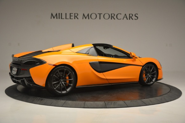 Used 2019 McLaren 570S SPIDER Convertible for sale $240,720 at Maserati of Greenwich in Greenwich CT 06830 8