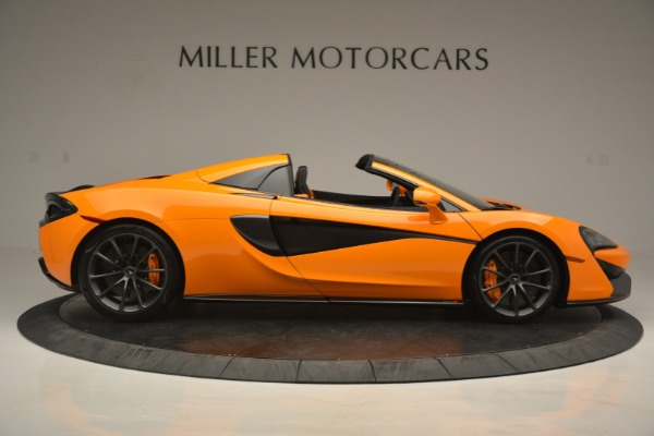 Used 2019 McLaren 570S SPIDER Convertible for sale $240,720 at Maserati of Greenwich in Greenwich CT 06830 9
