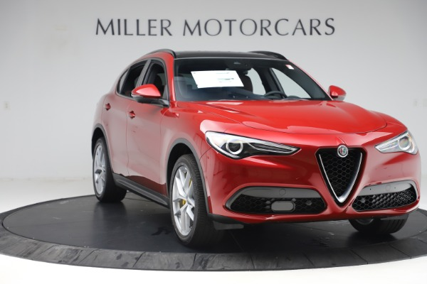 New 2019 Alfa Romeo Stelvio Ti Sport Q4 for sale Sold at Maserati of Greenwich in Greenwich CT 06830 11