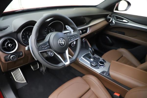 New 2019 Alfa Romeo Stelvio Ti Sport Q4 for sale Sold at Maserati of Greenwich in Greenwich CT 06830 13