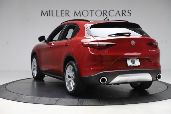 New 2019 Alfa Romeo Stelvio Ti Sport Q4 for sale Sold at Maserati of Greenwich in Greenwich CT 06830 5