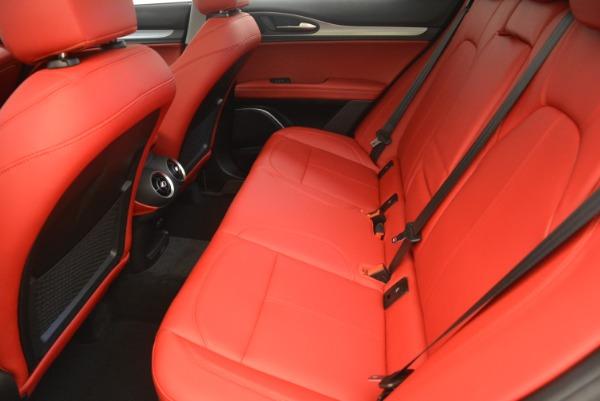 New 2019 Alfa Romeo Stelvio Sport Q4 for sale Sold at Maserati of Greenwich in Greenwich CT 06830 17