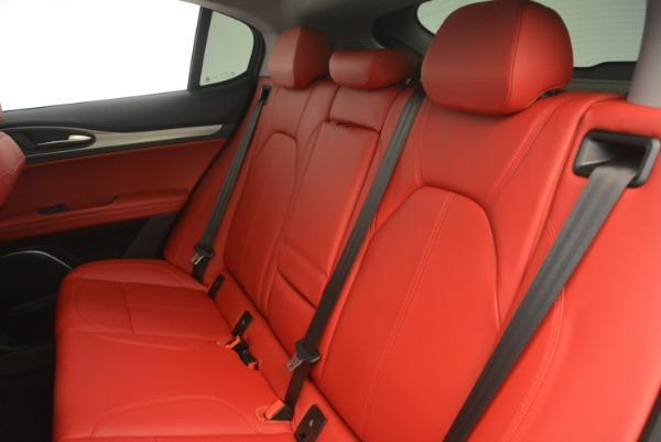 New 2019 Alfa Romeo Stelvio Sport Q4 for sale Sold at Maserati of Greenwich in Greenwich CT 06830 18