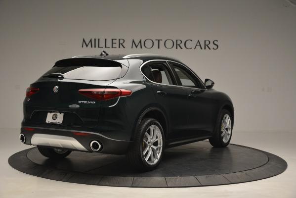 New 2019 Alfa Romeo Stelvio Q4 for sale Sold at Maserati of Greenwich in Greenwich CT 06830 7