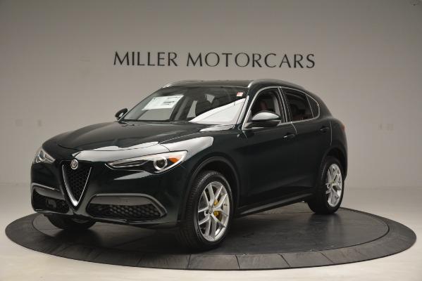 New 2019 Alfa Romeo Stelvio Q4 for sale Sold at Maserati of Greenwich in Greenwich CT 06830 1