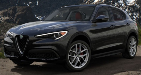 New 2019 Alfa Romeo Stelvio Q4 for sale Sold at Maserati of Greenwich in Greenwich CT 06830 1