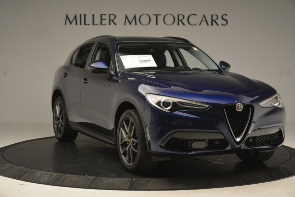 New 2019 Alfa Romeo Stelvio Sport Q4 for sale $49,940 at Maserati of Greenwich in Greenwich CT 06830 11