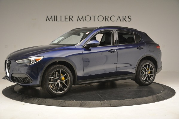 New 2019 Alfa Romeo Stelvio Sport Q4 for sale $49,940 at Maserati of Greenwich in Greenwich CT 06830 2