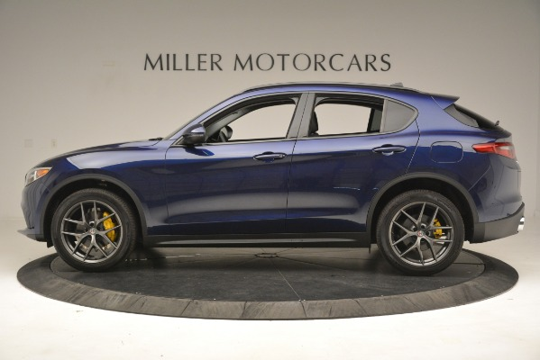 New 2019 Alfa Romeo Stelvio Sport Q4 for sale $49,940 at Maserati of Greenwich in Greenwich CT 06830 3