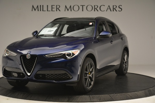 New 2019 Alfa Romeo Stelvio Sport Q4 for sale $49,940 at Maserati of Greenwich in Greenwich CT 06830 1
